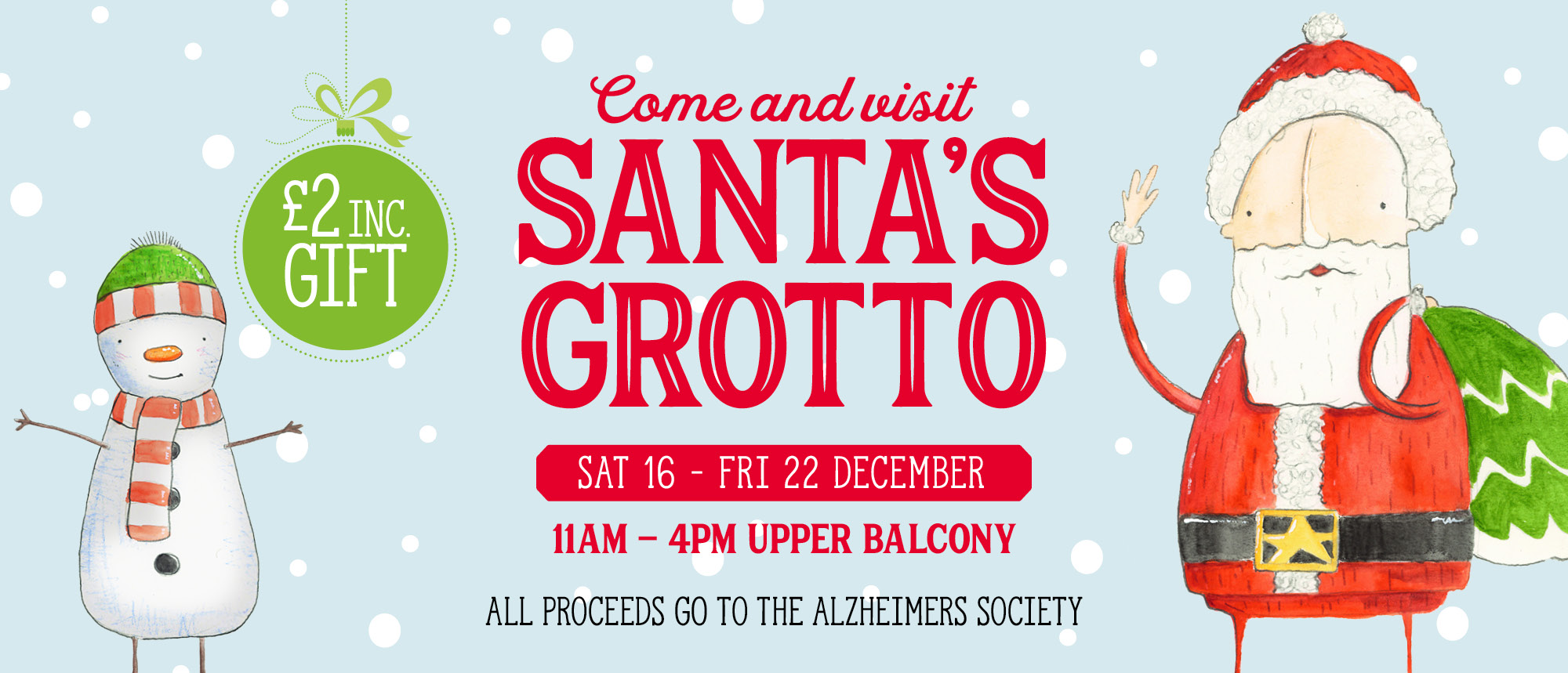 Come and visit Santa's Grotto