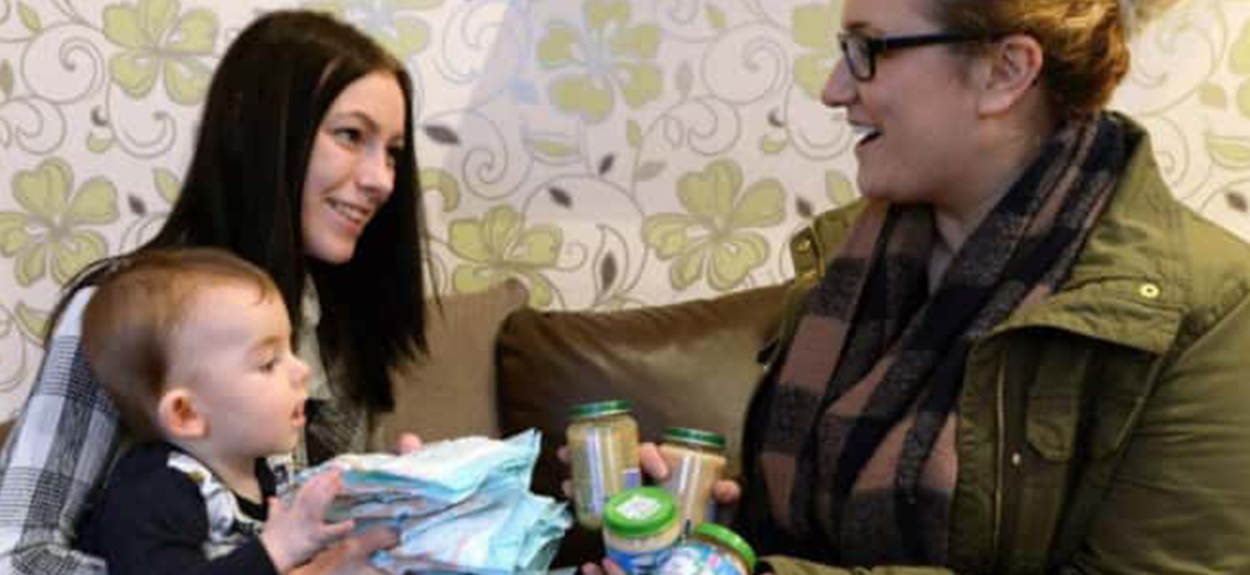 St Johns gives Leeds Baby Bank a home